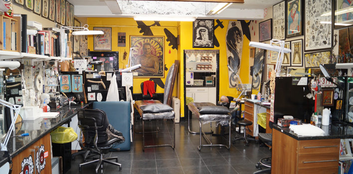 Into You: Getting inked in Clerkenwell