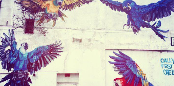 Graffiti, street art or glorified vandalism?