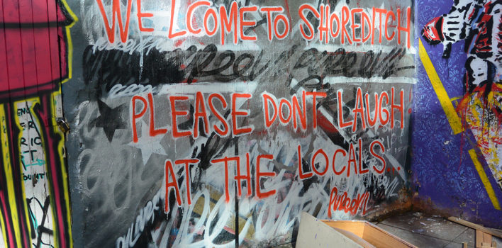 Is gentrification killing the political and creative side of Shoreditch?