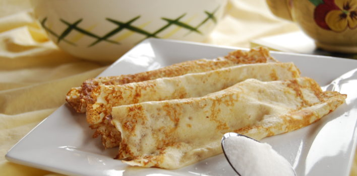 Sugar and lemon triumph in the pancake poll!