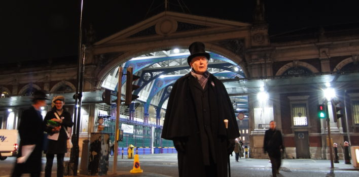 Smithfield Market: Street theatre revives 19th century architect to help save threatened buildings