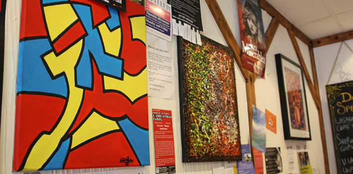 Café Art: Fighting homelessness with paint and brush