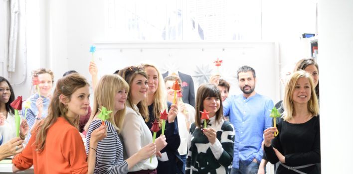 Origami: from roses to heart operations at CDW