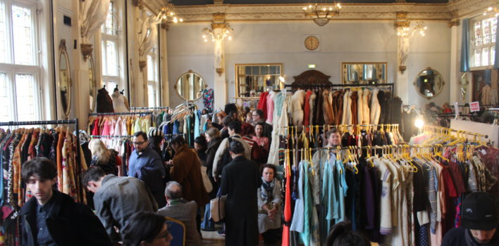 Love is in the air at Clerkenwell Vintage Fashion Fair