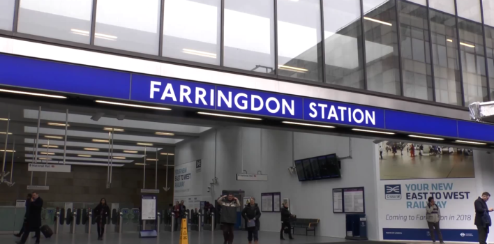 Farringdon set to undergo significant changes to Crossrail