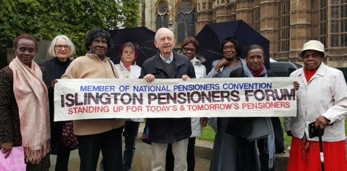 An afternoon with the Islington Pensioners Forum